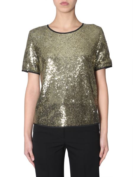 Ps By Paul Smith - Short Sleeve Sequined Blouse