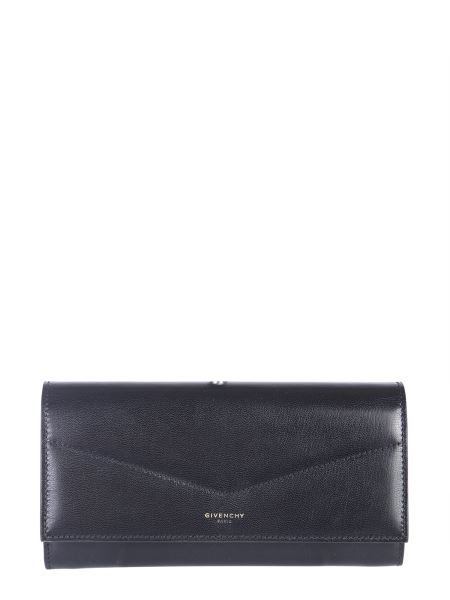 Givenchy - Long Edge Wallet With Leather Pattern