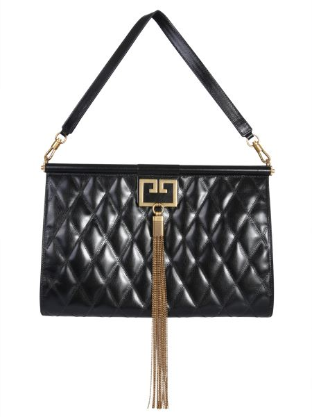 Givenchy - Large Gem Quilted Leather Bag
