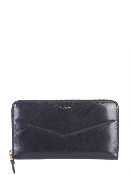 Givenchy - Long Edge Leather Wallet With Zip