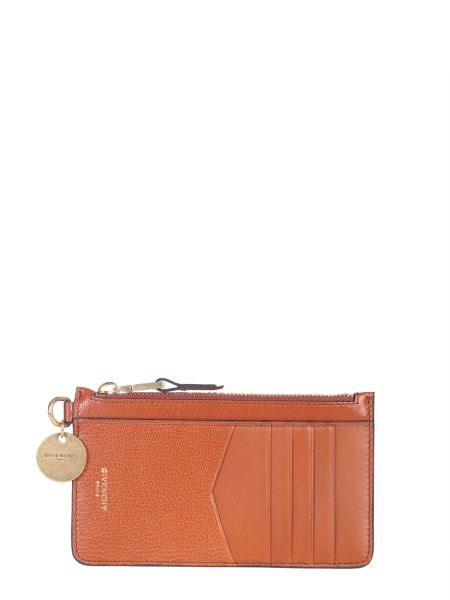 Givenchy - Leather Card Holder With Zip