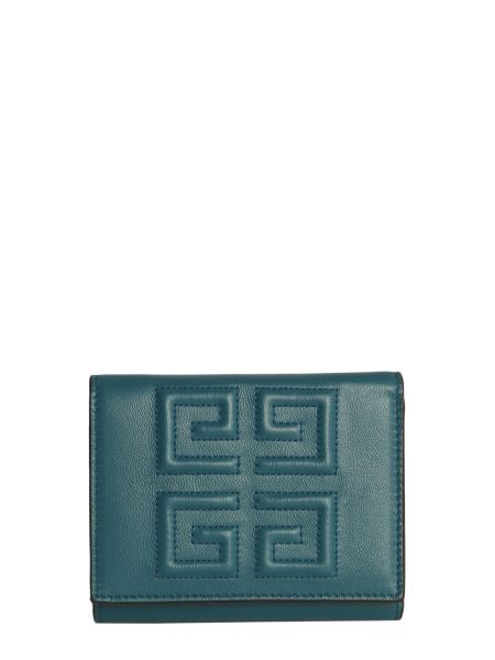 Givenchy - 4g Three-fold Wallet In Hammered Skin