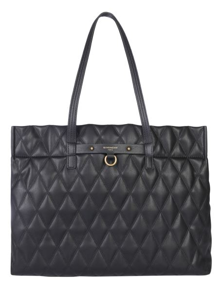 Givenchy - Duo Tote Bag In Quilted Canvas