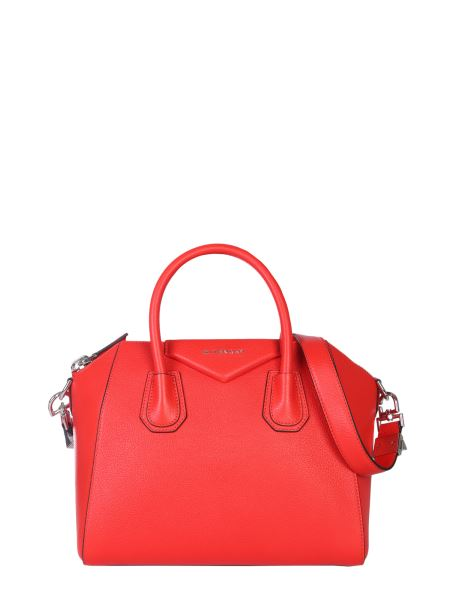 Givenchy - Small Antigona Bag In Hammered Leather