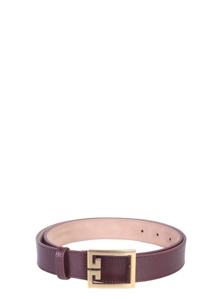 Givenchy - Double G Leather Belt