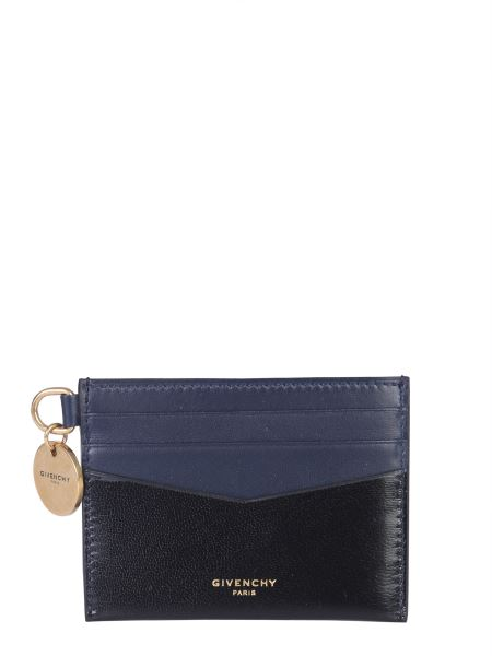 Givenchy - Edge Card Holder In Two-tone Leather