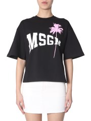 MSGM - T-SHIRT CON STAMPA WOW