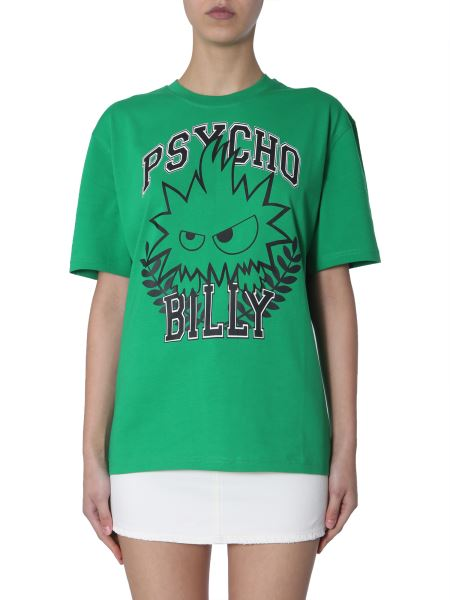 Mcq Alexander Mcqueen - Necklace T-shirt Psycho Billy Monster