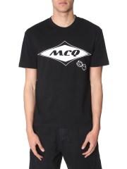 MCQ ALEXANDER MCQUEEN - T SHIRT GIROCOLLO