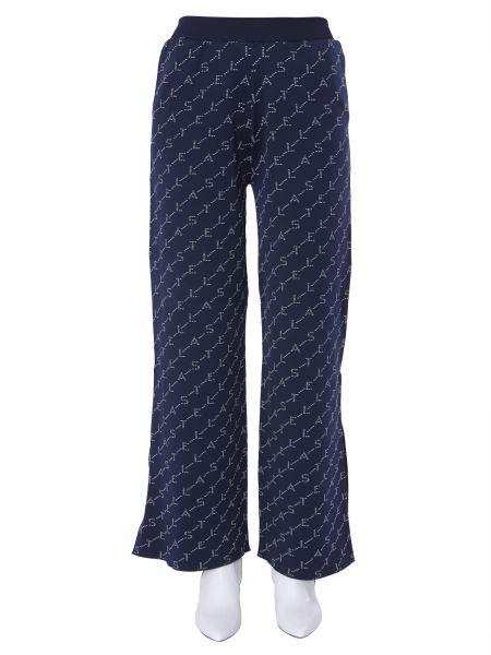 Stella Mccartney - Pantaloni Monogramma In Maglia