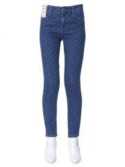 STELLA McCARTNEY - JEANS A VITA ALTA SKINNY FIT