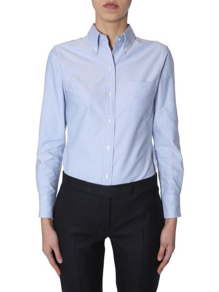 Thom Browne - Cotton Poplin Button Down Shirt