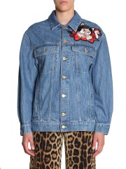 MOSCHINO - GIACCA IN DENIM