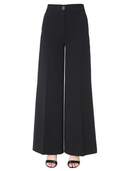 Boutique Moschino - High-waist Crêpe Trousers
