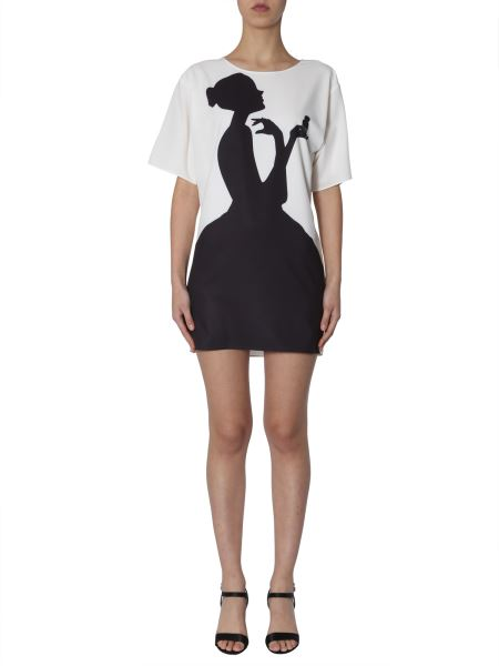 Boutique Moschino - Short Sleeved Dress With Print