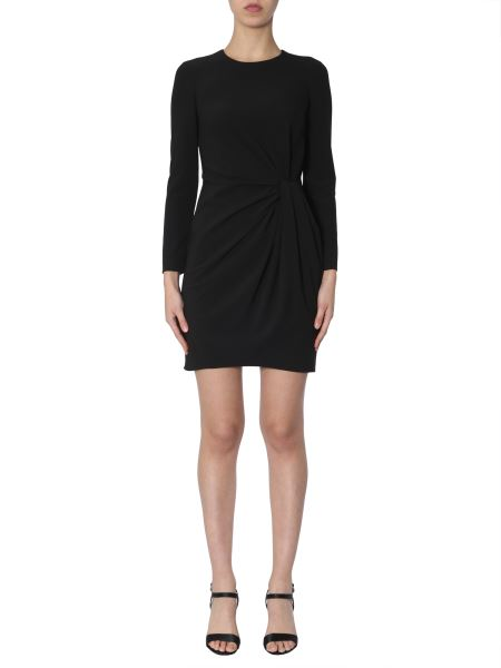 Boutique Moschino - Crêpe Dress With Draped Detail
