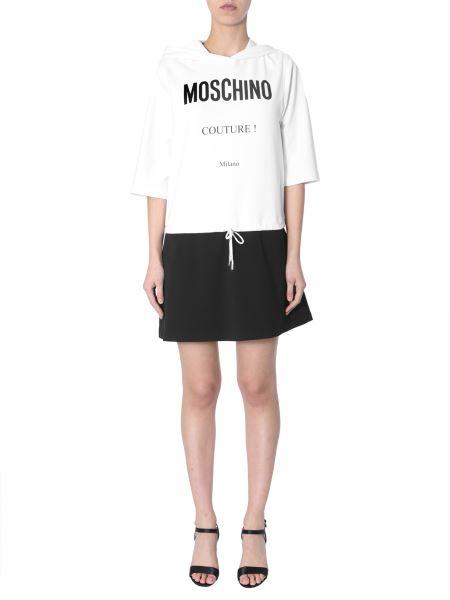 Moschino - Cotton Fleece Short Dress