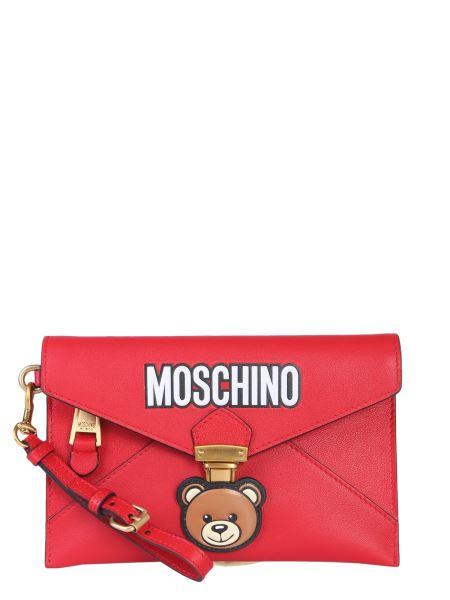 Moschino - Teddy Bear Leather Clutch