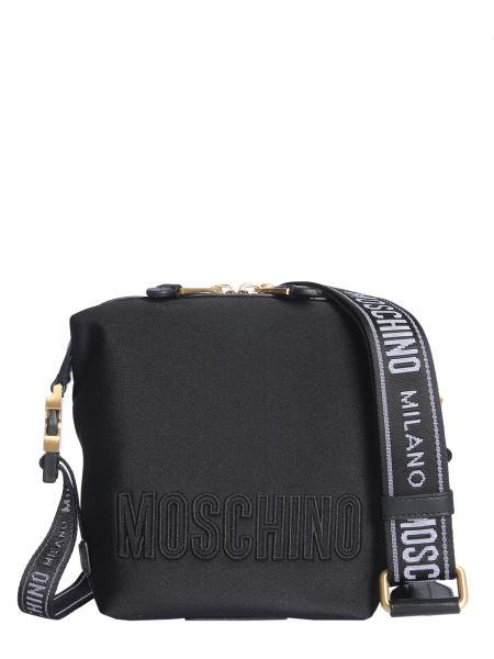 Moschino - Neoprene Shoulder Bag With Logo
