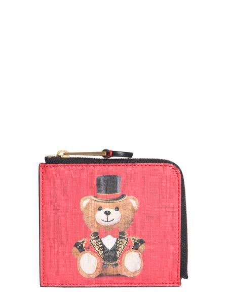 Moschino - Zip Around Wallet In Leather