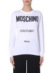 MOSCHINO - MAGLIA IN COTONE