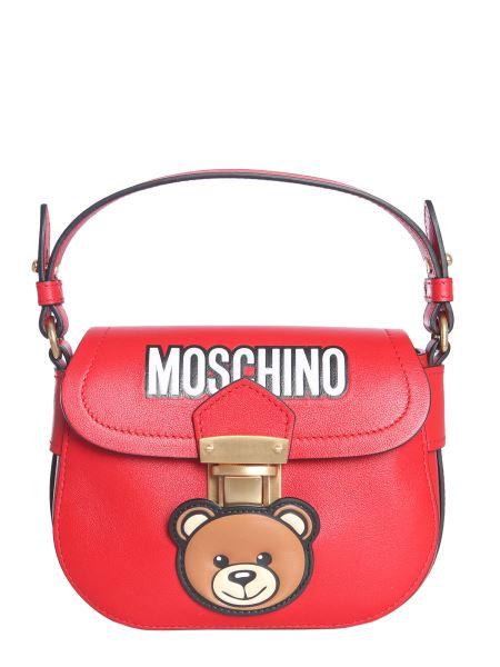 Moschino - Hidden Lock Bag In Teddy Bear Leather