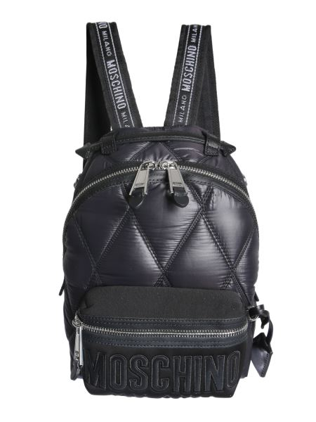 Moschino - Quilted Nylon Backpack With Logo