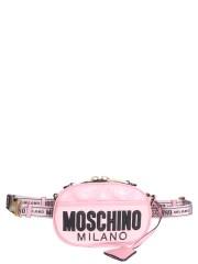 MOSCHINO - MARSUPIO TRAPUNTATO IN NYLON