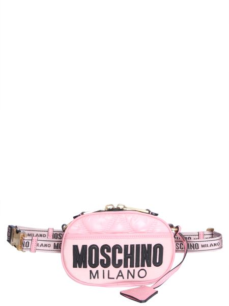 Moschino - Nylon Quilted Pouch With Logo