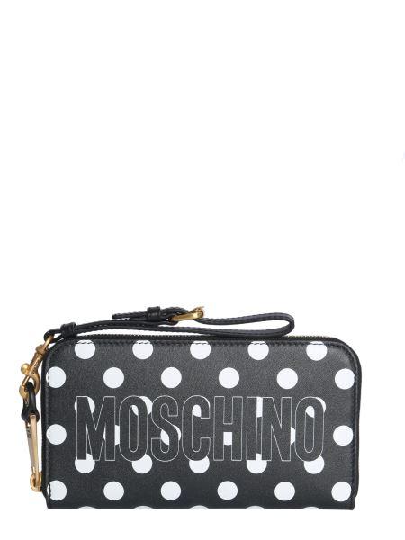 Moschino - Portafoglio Zip Around