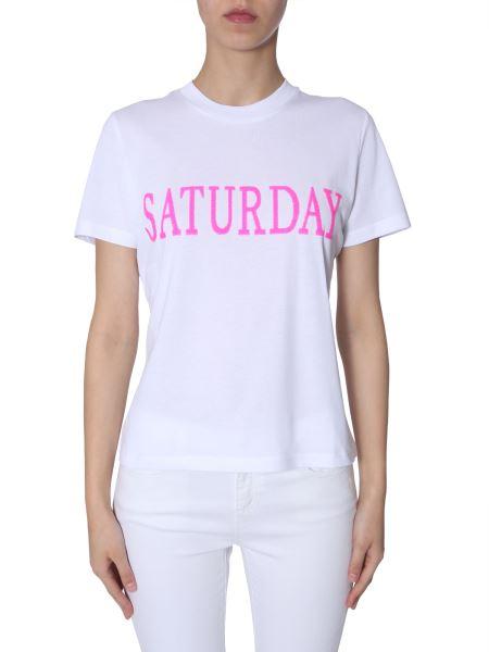 "Alberta Ferretti - Sequin-embellished ""saturday"" Cotton Slim T-shirt"