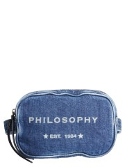 PHILOSOPHY DI LORENZO SERAFINI - MARSUPIO  IN DENIM