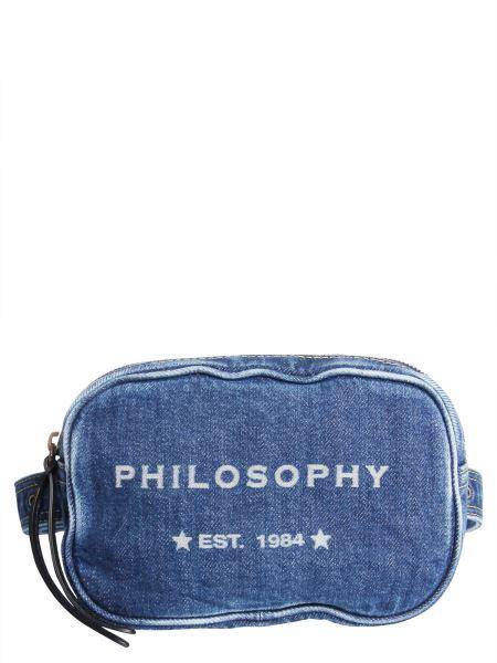 Philosophy Di Lorenzo Serafini - Sling Pouch In Denim