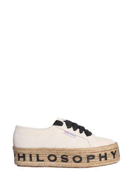 Philosophy Di Lorenzo Serafini - Rope Suede Platform Sneakers