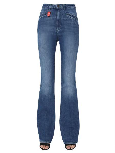 Philosophy Di Lorenzo Serafini - Zampa Jeans With Logo Patch
