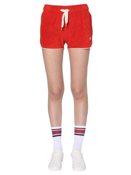 Philosophy Di Lorenzo Serafini - Chenille Shorts With Embroidered Logo