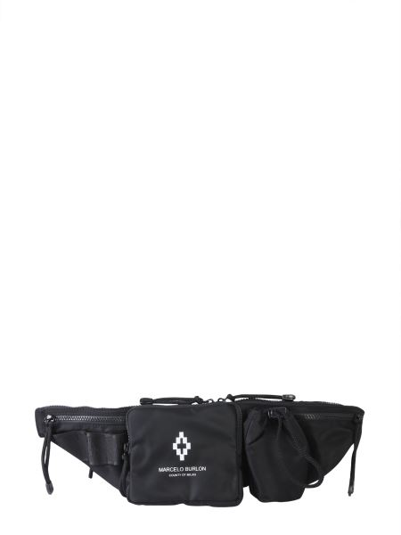 Marcelo Burlon County Of Milan - Printed Marsupio Cross Fanny Pack