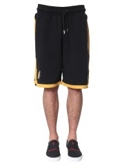 MARCELO BURLON COUNTY OF MILAN - SHORTS LAKERS