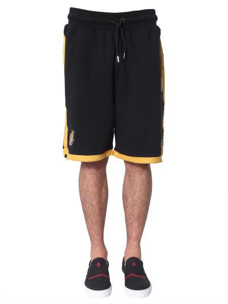 Marcelo Burlon County Of Milan - Lakers Cotton Shorts
