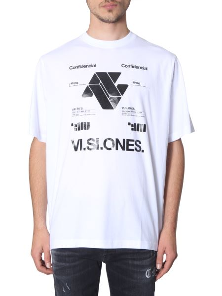 Marcelo Burlon County Of Milan - Printed Crew Neck T-shirt