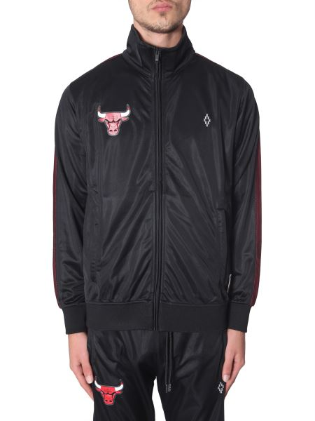 Marcelo Burlon County Of Milan - Chicago Bulls Acetate Sports Jacket