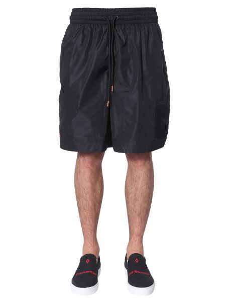 Marcelo Burlon County Of Milan - Muhammad Ali Acetate Shorts