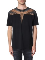 MARCELO BURLON COUNTY OF MILAN - T-SHIRT GIROCOLLO