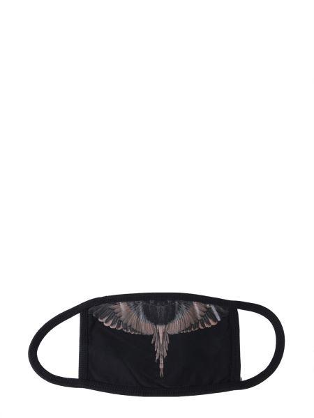 Marcelo Burlon County Of Milan - Wings Print Cotton Mask