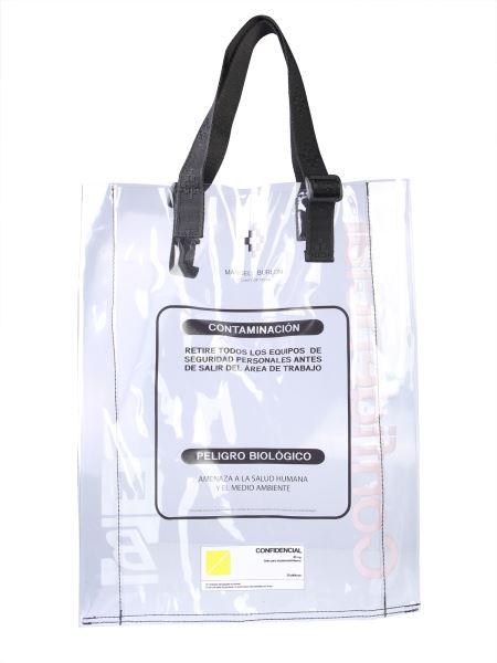 Marcelo Burlon County Of Milan - Pvc Shopping Bag