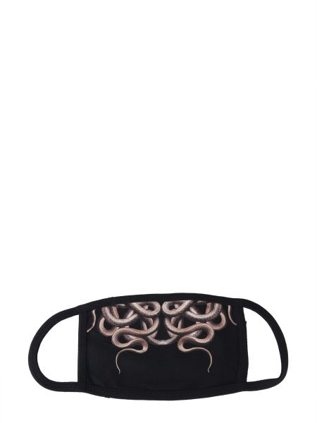 Marcelo Burlon County Of Milan - Snake Print Cotton Mask