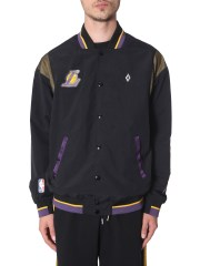 MARCELO BURLON COUNTY OF MILAN - GIACCA SPORTIVA L.A. LAKERS