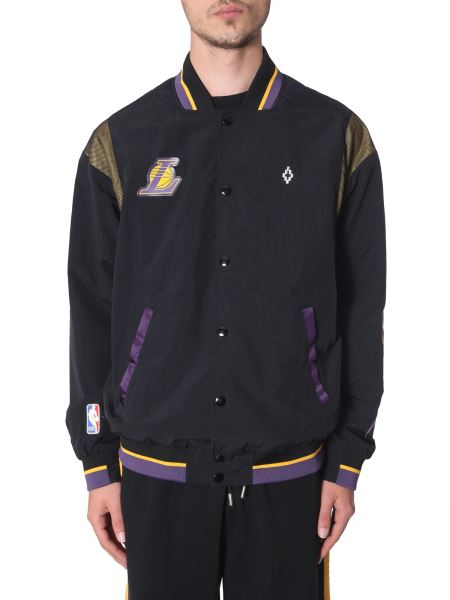 Marcelo Burlon County Of Milan - L.a. Lakers Technical Fabric Sports Jacket