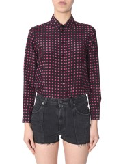 SAINT LAURENT - CAMICIA IN SETA