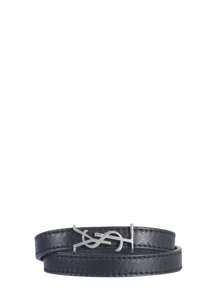 Saint Laurent - Opyum Bracelet With Double Leather Turn